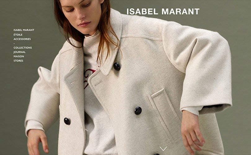 Webshop Isabel Marant is live