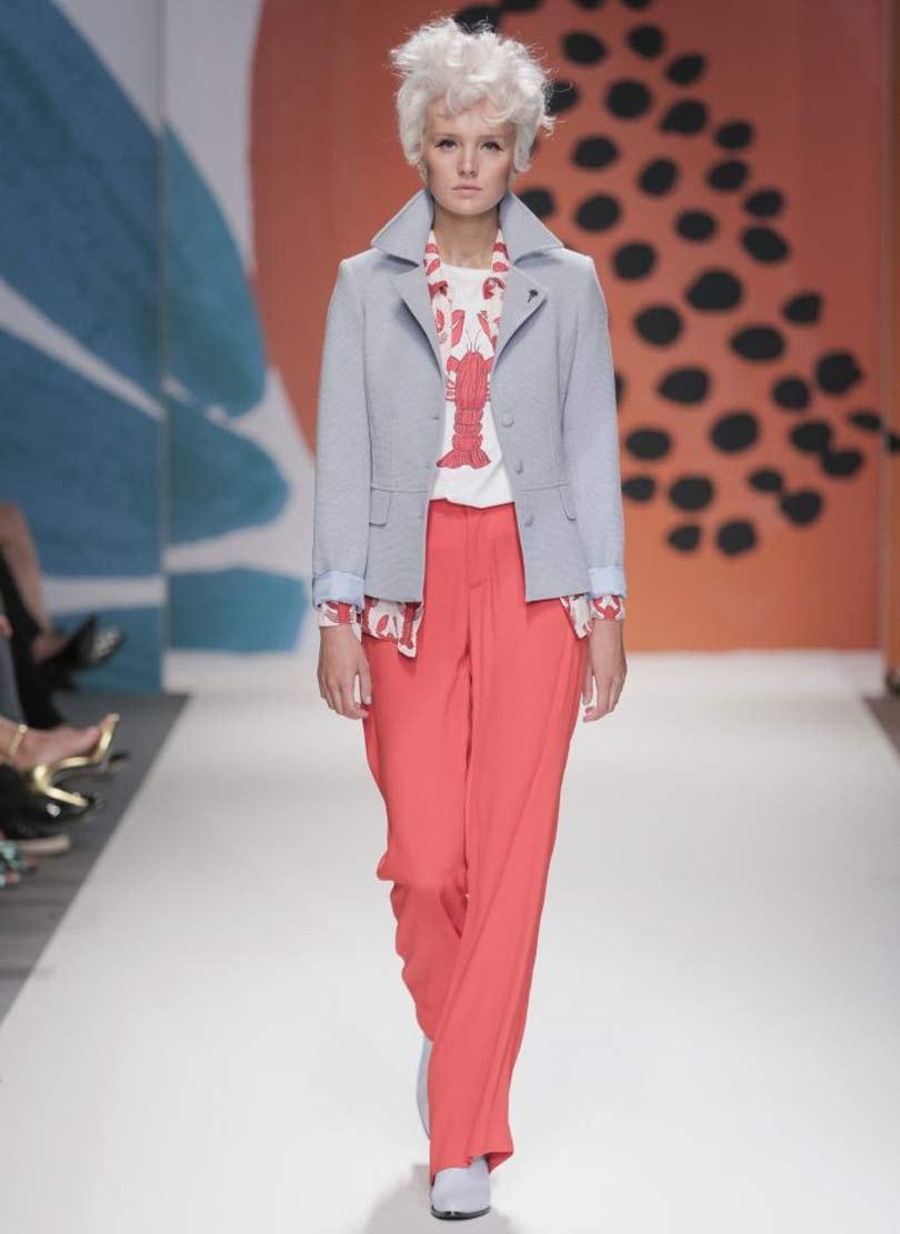 In Beeld: Kleurrijke eerste modeshow van Fabienne Chapot