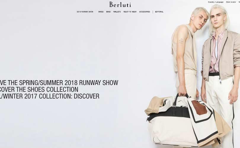 Berluti lanceert online shop