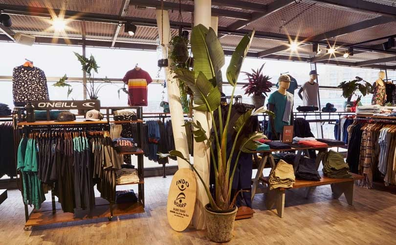 O'Neill opent winkel op Scheveningse pier