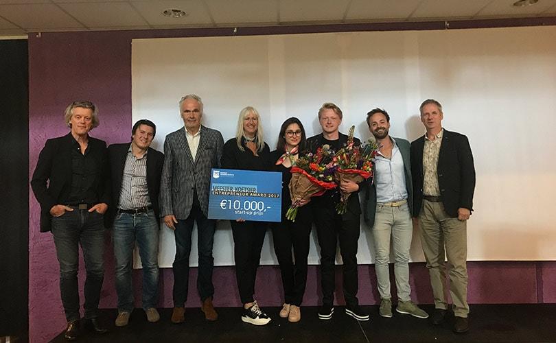 Concept FINDS Guide wint eerste Meester Koetsier Entrepreneur Award