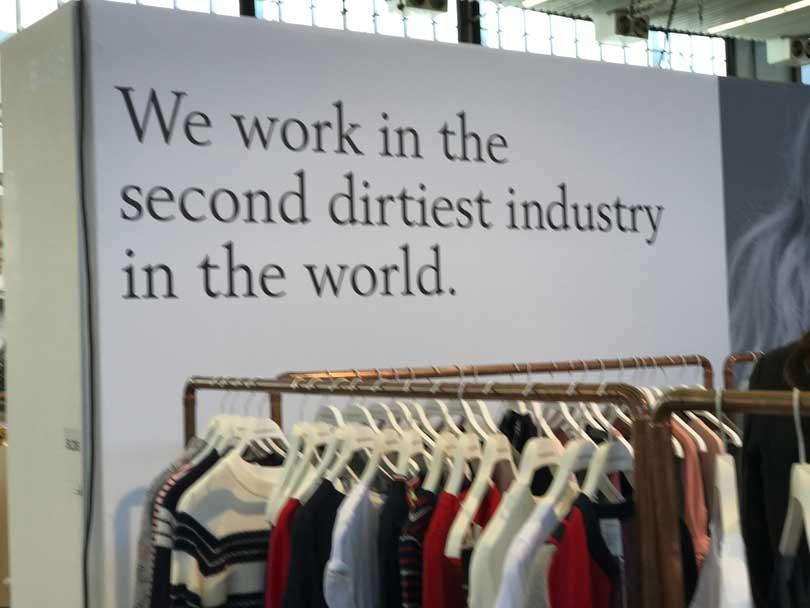 Modefabriek: de ervaring van een inkoper