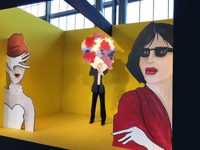 Standhouders vol vertrouwen op de Modefabriek