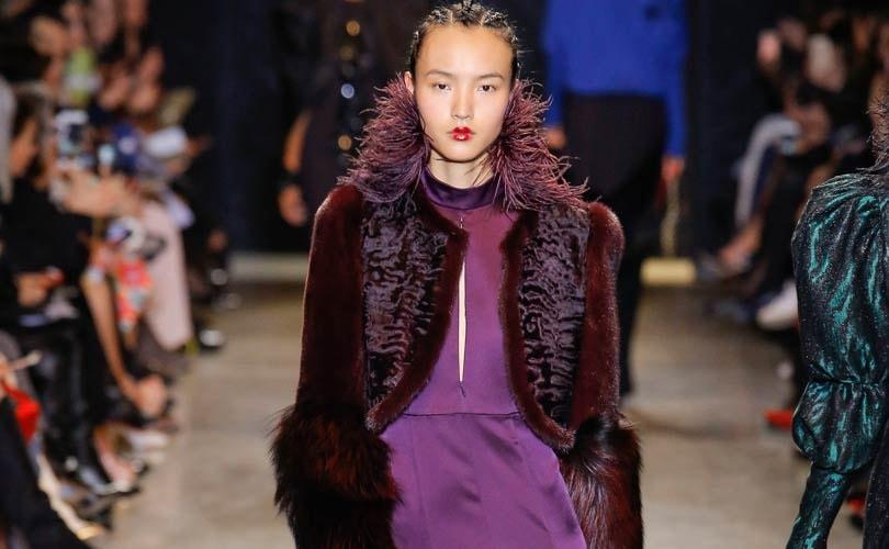 Gespot op de catwalk: Pantone x Prince paars