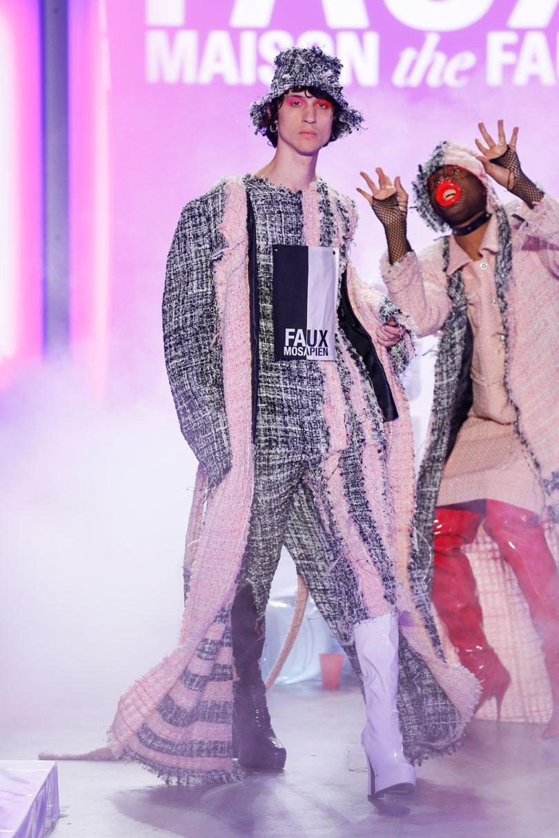 Maison the Faux en Sies Marjan tijdens New York Fashion Week