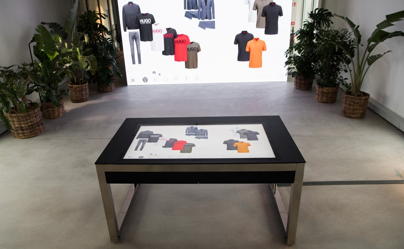 Hugo Boss stapt over op digitale showroom