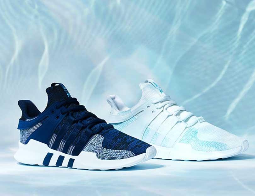 Adidas hergebruikt plastic voor nieuwe sneaker