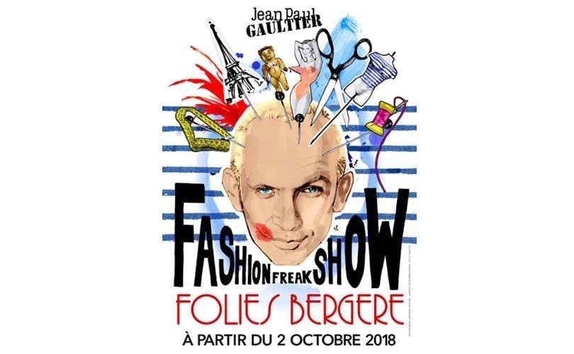 Jean-Paul Gaultier kondigt zijn musical Fashion Freak Show aan