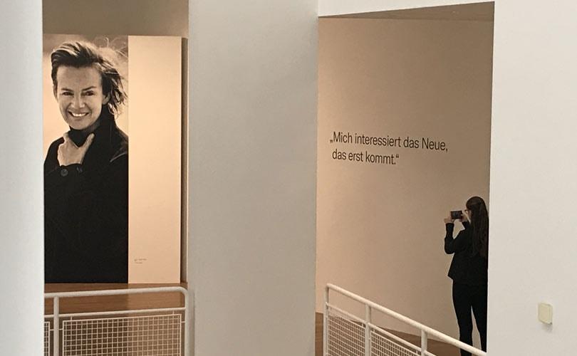Jil Sander ontsnapt aan de tijd in Frankfurt-tentoonstelling