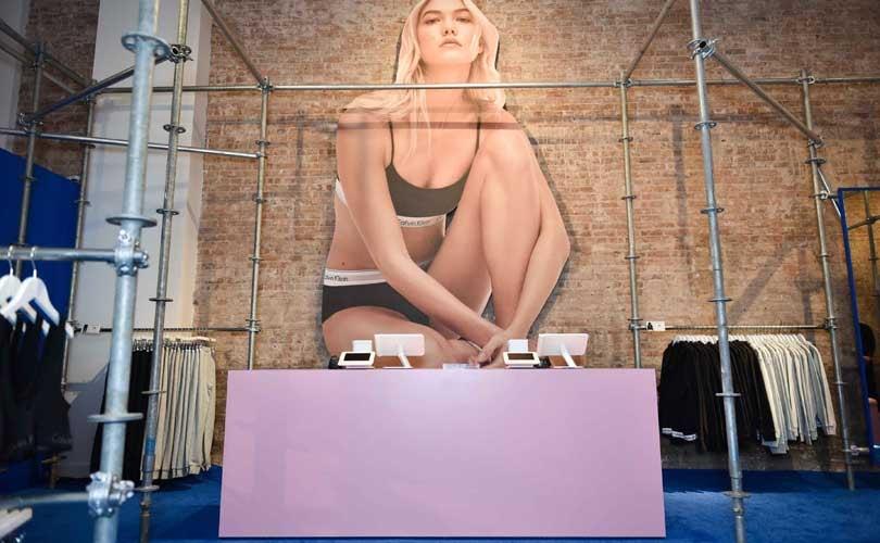 Calvin Klein verkoopt goederen exclusief via Amazon
