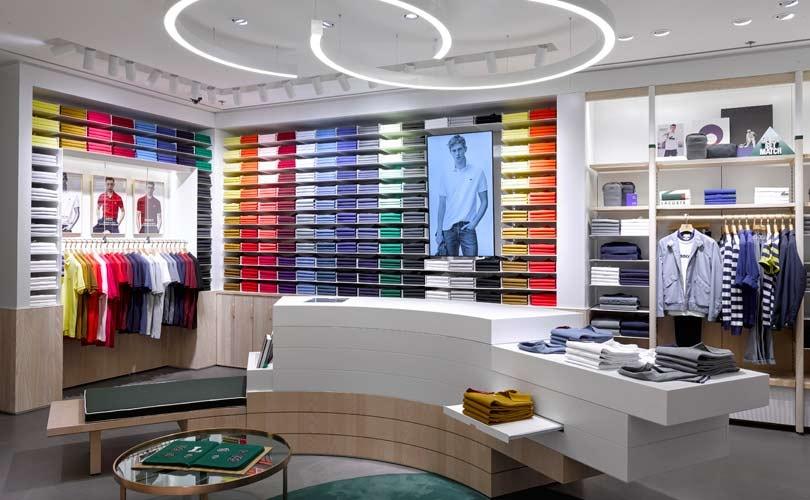 Kijken: Lacoste lanceert nieuw internationaal winkelconcept