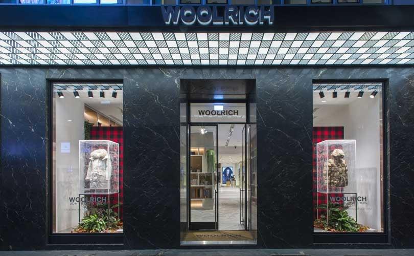 Kijken: 'Extreem weer' in nieuw winkelconcept Woolrich