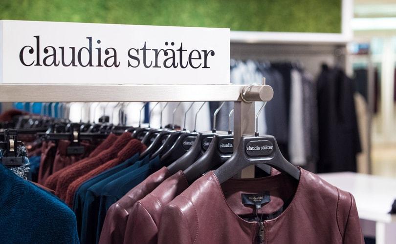 Zo ziet de eerste Duitse shop-in-shop van Claudia Sträter eruit