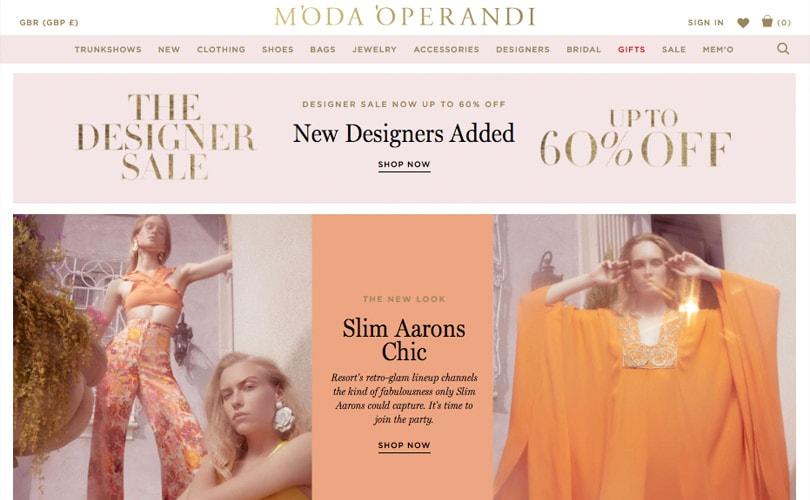 Moda Operandi haalt 165 miljoen dollar op aan groeikapitaal