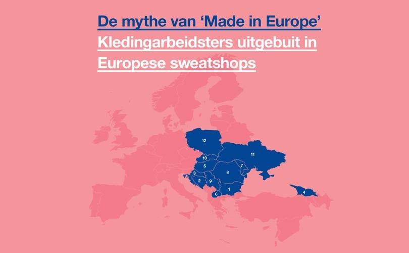 Schone Kleren Campagne waarschuwt: 'Laat je niet misleiden door het 'Made In Europe'-label