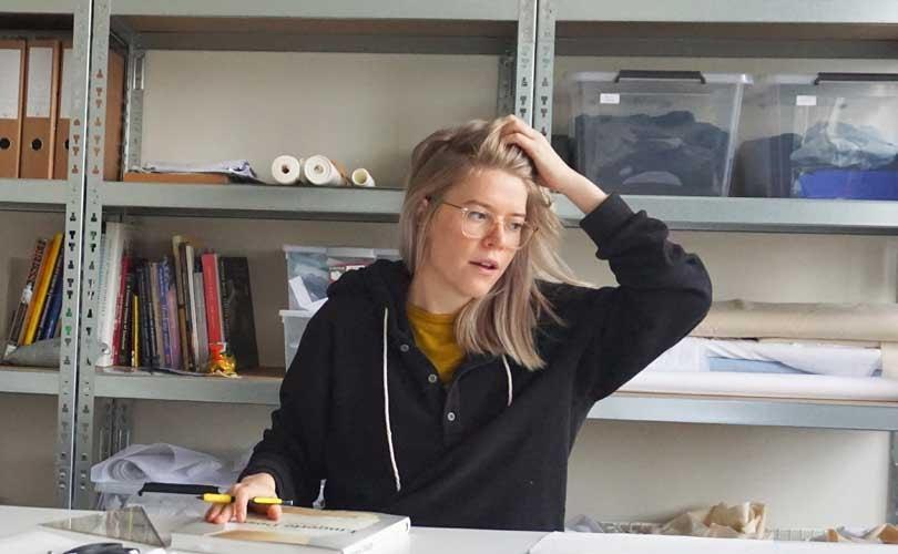Binnenkijken: het atelier van Tess van Zalinge
