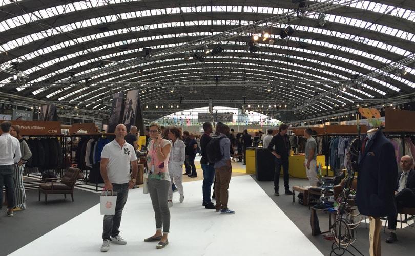 Modefabriek: live vanaf de beursvloer