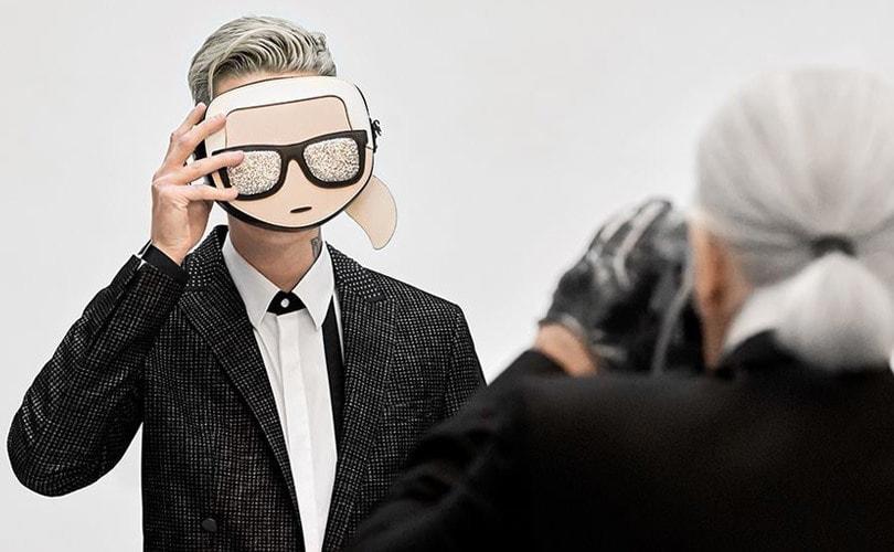 Karl Lagerfeld-merk brengt eerbetoon aan wijlen ontwerper op Pitti Uomo