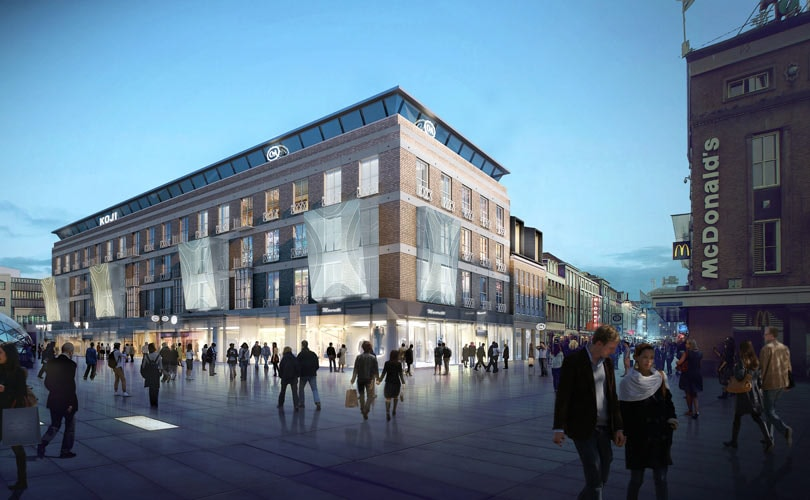 Transformatie C&A Eindhoven naar 'modern winkelcentrum'