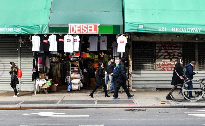 Diesel opent namaakwinkel Deisel in New York