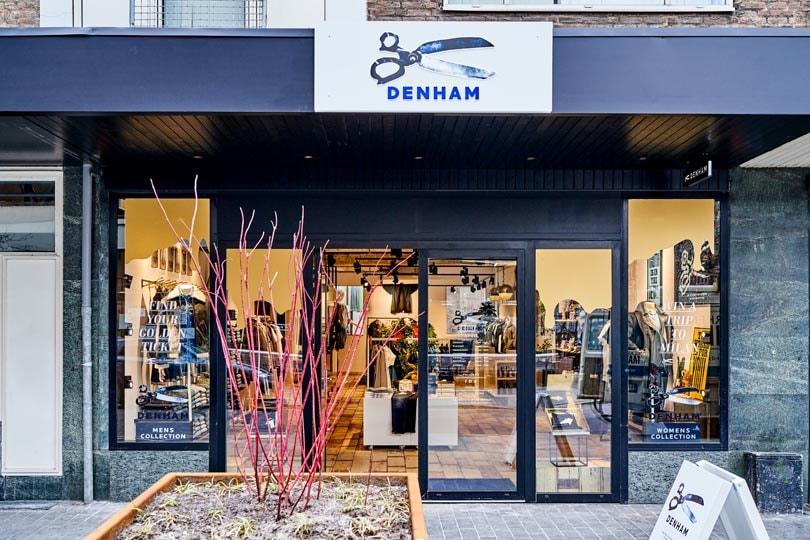 Denham opent eerste winkel in Rotterdam