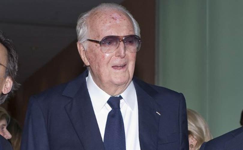 Modeontwerper Hubert de Givenchy op 91-jarige leeftijd overleden