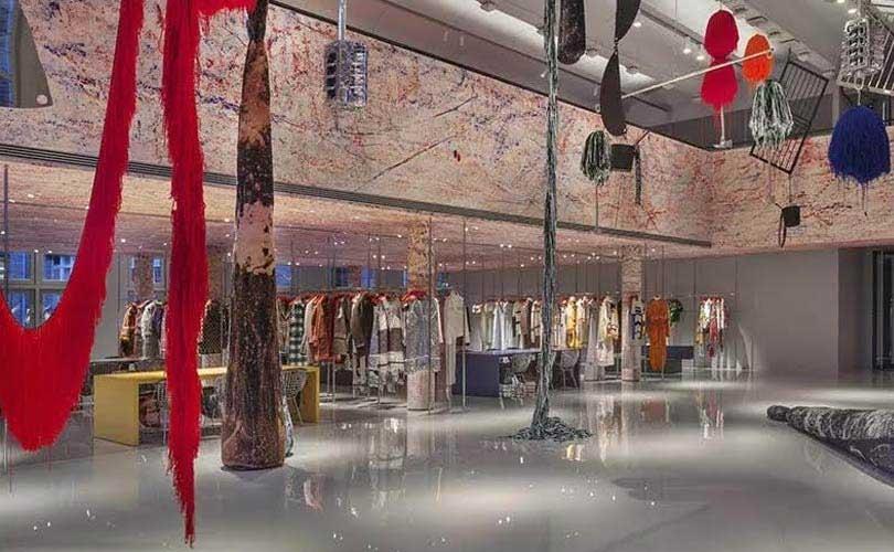 Kijken: het nieuwe hoofdkantoor van Calvin Klein 205W339NYC in Parijs