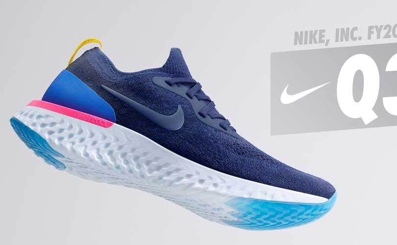 Nike rapporteert 7 procent omzetgroei Q3