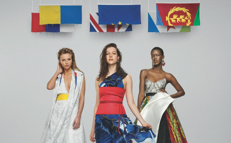 Mode van vlaggen: de 'United Collection' van Young Designers United