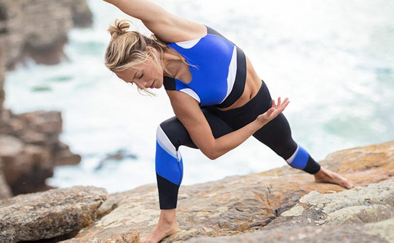 Kijken: Adidas x Wanderlust yogacollectie van gerecycled plastic