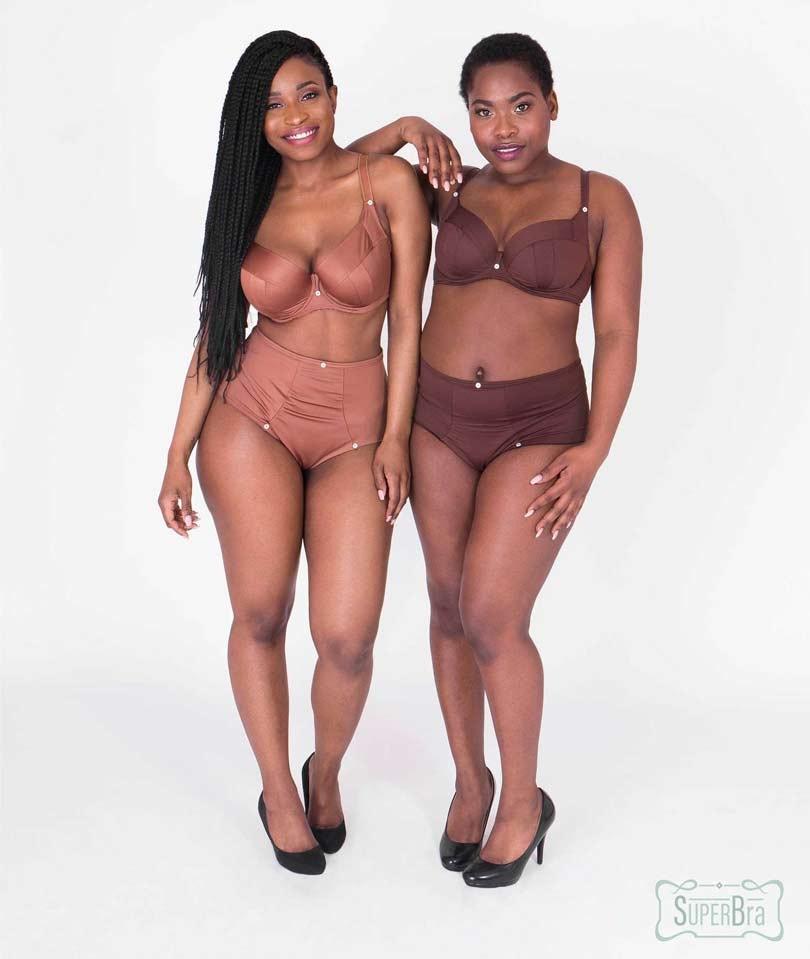 SuperBra lanceert D+ lingerielijn in nude voor alle huidskleuren