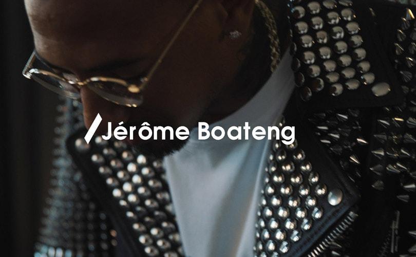 H&M's nieuwste modemerk Nyden strikt voetballer Jérôme Boateng voor collectie 2019