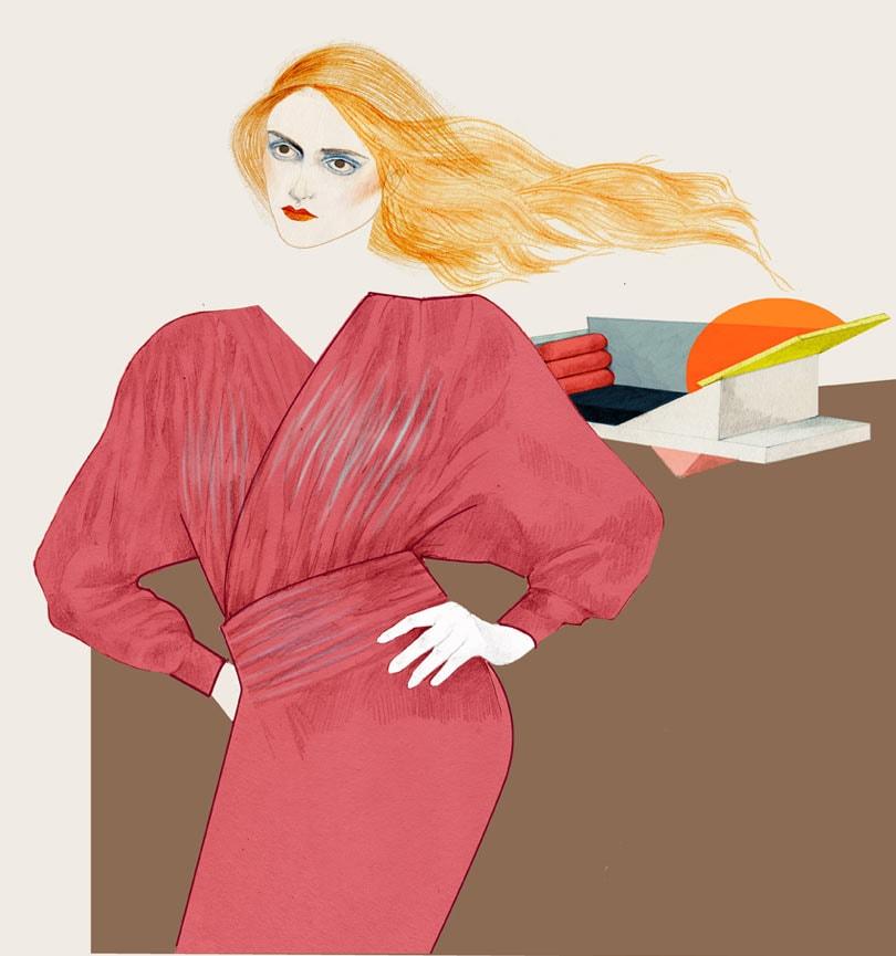 Mode-illustrator Eline Jetten wint Joke Veeze Award 2018