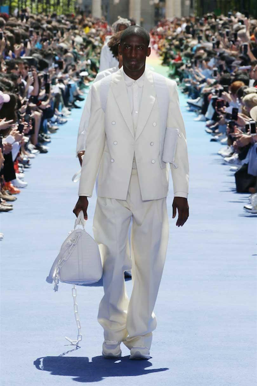 Zo ziet het Louis Vuitton van Virgil Abloh eruit