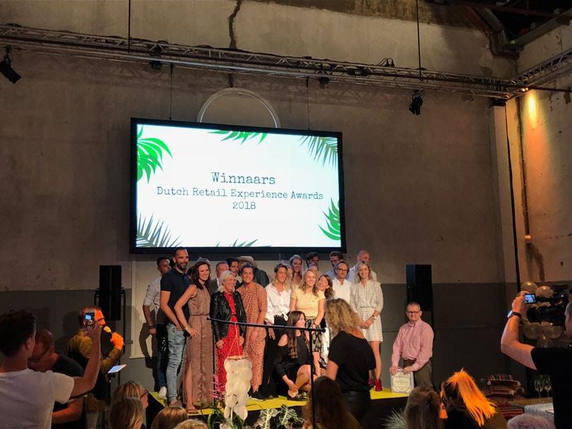 Dit zijn de winnaars van de Dutch Retail Experience Awards 2018
