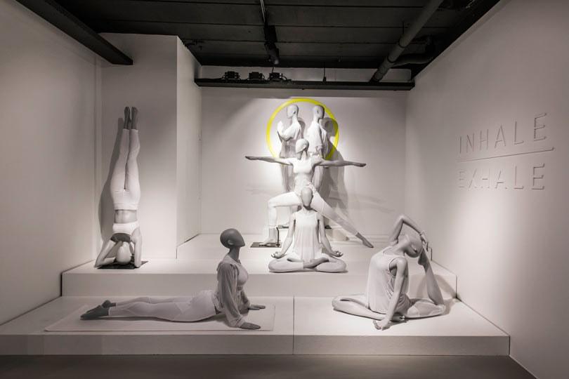 Kijken: Hans Boodt Mannequins 'sporty' showroom