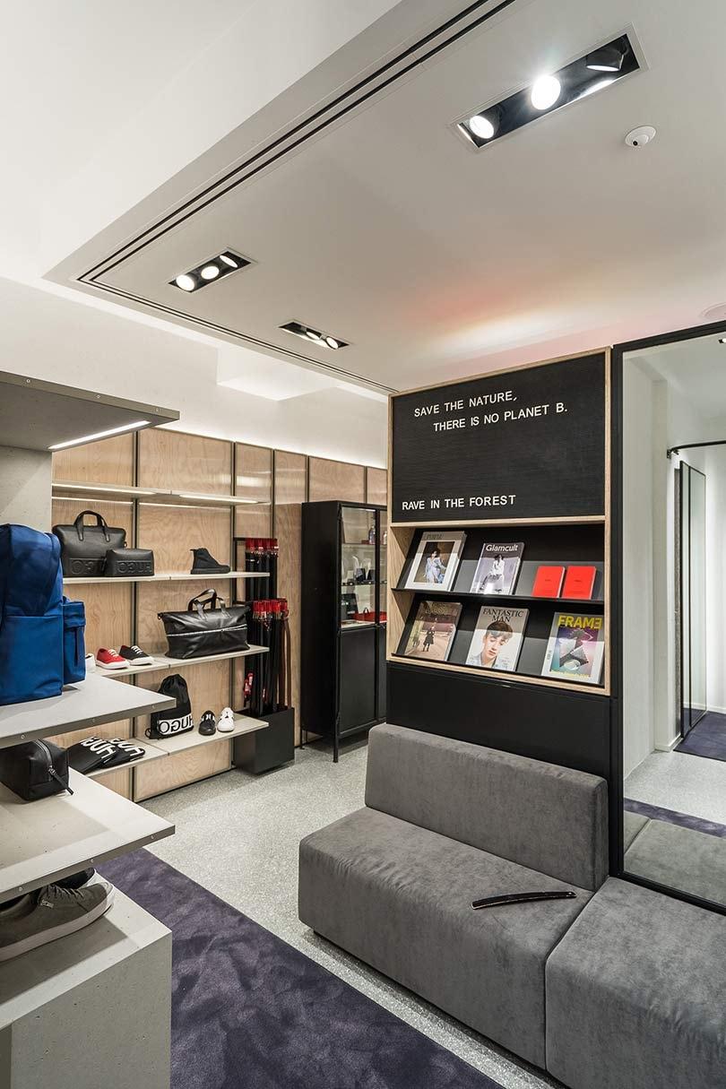 Kijken: De eerste Nederlandse winkel van Hugo Boss zuster label Hugo