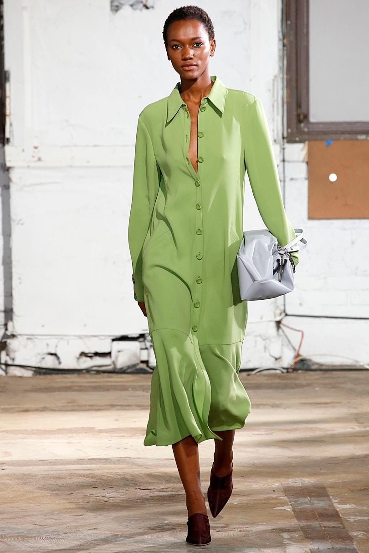 Gespot op de catwalk: Pantone's modekleuren lente/zomer 2019 New York Fashion Week