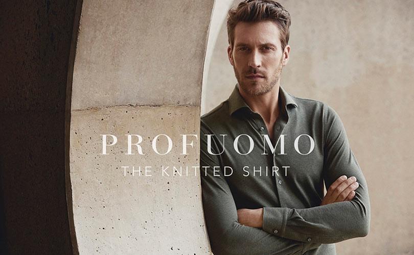 Profuomo zet dit najaar groots in op 'the knitted shirt'