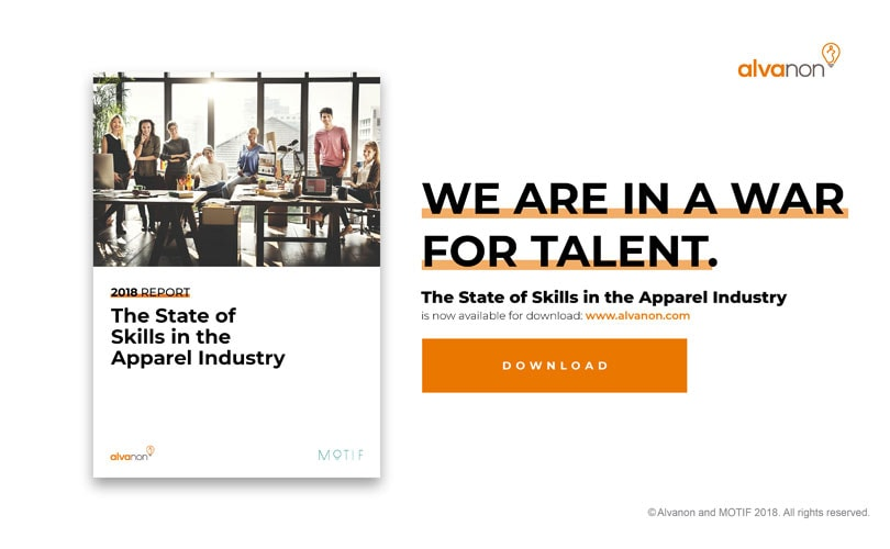 Free copy of 'The State of Skills in the Apparel Industry 2018'
