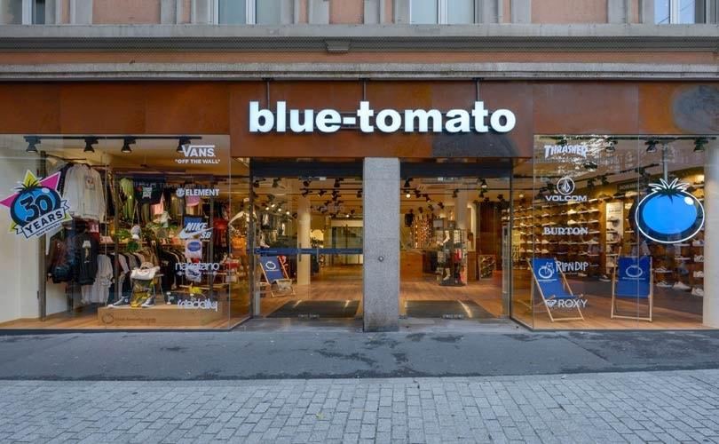 Blue Tomato opent eerste winkel in Nederland