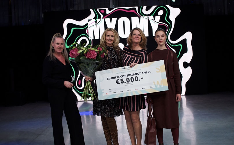 MYOMY Do Goods wint Green Fashion Talent Award 2018