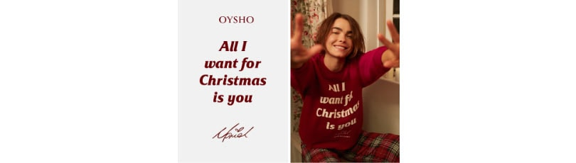 OYSHO | OYSHO IN COLLABORATION WITH MARIAH CAREY