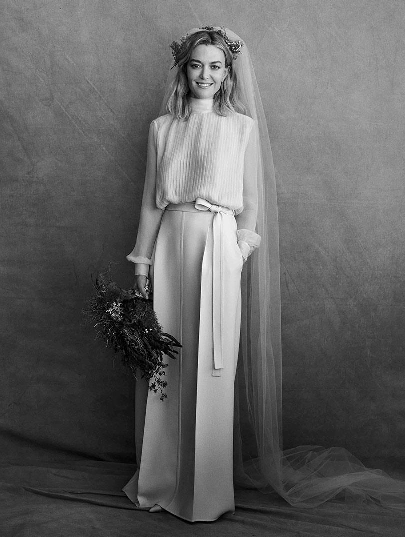 Dochter Zara oprichter trouwt in Valentino