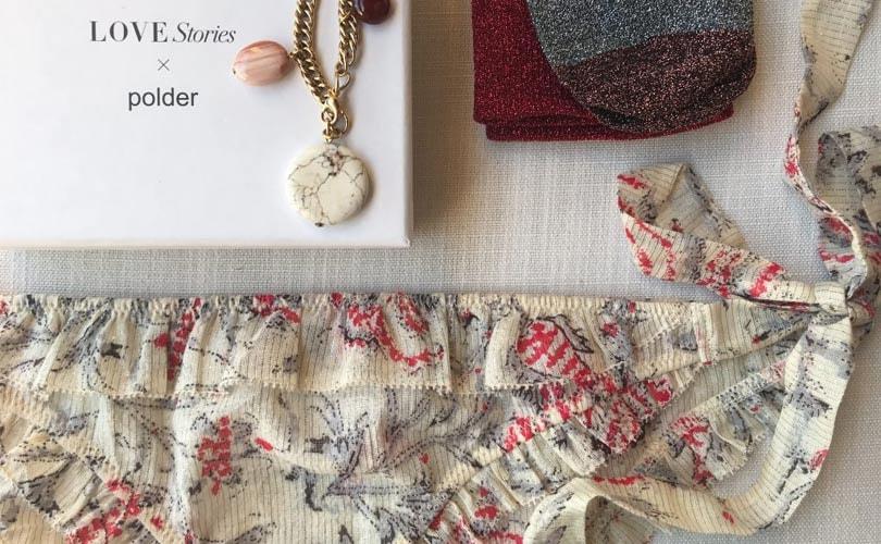 Love Stories werkt samen met het Franse modemerk Polder