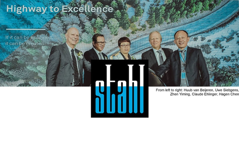 Stahl opens Center of Excellence for Performance Coatings in China