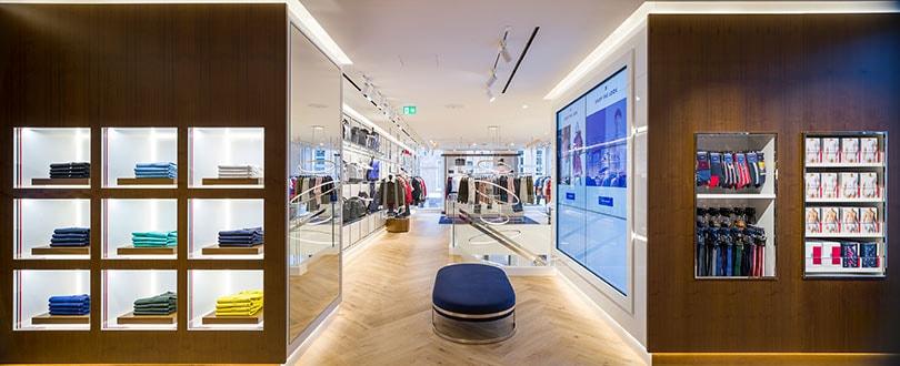 'De winkel van de toekomst': Tommy Hilfiger's vernieuwde winkel in Amsterdam
