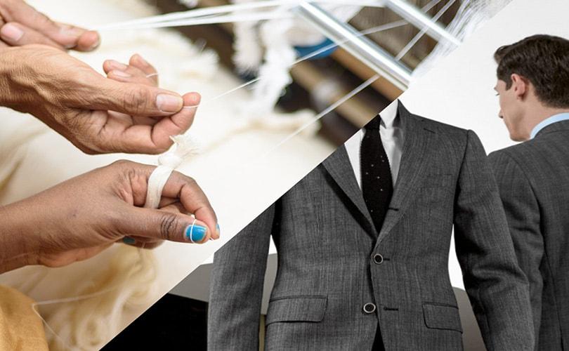 Twee Nederlandse fashion start-ups, Suittruck & Khaloom, lanceren unieke serie 100% gerecycelde maatpakken