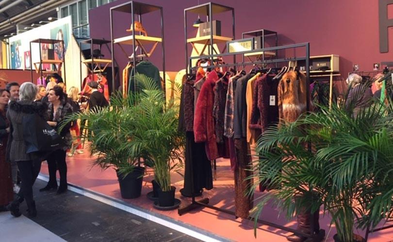 Kleur stoot donkere tinten van de troon tijdens wintereditie Modefabriek