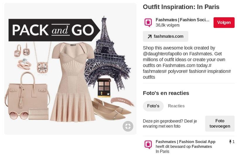 Een modebedrijf promoten op Pinterest doe je zo